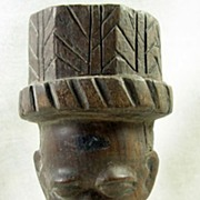 SALE Collectible African Tribunal Aristocrat Statue