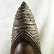 SALE Collectible Hand Carved Wood African Female Statue
