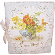 ANTIQUE VICTORIAN Gift Booklet - The Voice of Christmas!