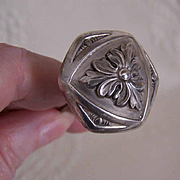 ANTIQUE EDWARDIAN Sterling Silver Hat Pin!