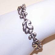 Vintage STERLING SILVER Link Bracelet!