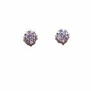 SALE STUNNING 14K Gold & .80CT TW Diamond Earrings/Diamond Studs!