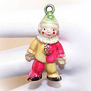 Vintage MADE IN JAPAN Cracker Jack Charm - Happy Clown!