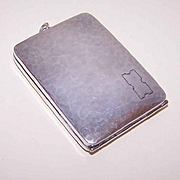 Webster Co. ART DECO Sterling Silver Ladies Case - Cigarette Holder, Compact or Memo Holder!
