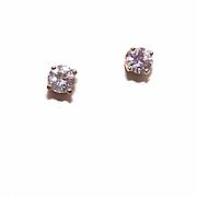 Vintage 14K Gold & .58CT TW Diamond Studs/Pierced Earrings!