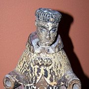 C.1900 Handcarved & Painted  Santos Figure - A Saint without Hands!