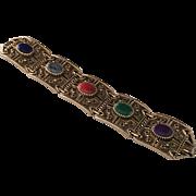 Vintage Etruscan Revival Bracelet by Sarah Coventry