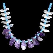 Vintage Southwestern American Indian Fetish Necklace