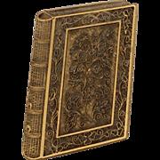 Vintage Peabody Essex Museum Book Broach