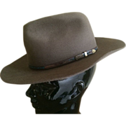Vintage Iconic Outback Australian Felt Hat by Akubra