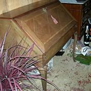 SALE Louis XV Style drop Leaf Desk/Bureau