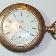SOLD Antique Elgin Pocket Watch