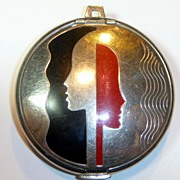 SOLD Vintage Art Deco Compact
