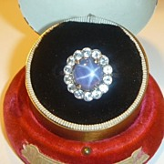 SOLD Vintage Natural Star Sapphire Ring