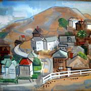 Watercolor by  Erle Loran