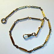 SALE PENDING Antique Victorian Watch Chain