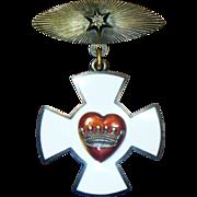 SALE PENDING Antique Rebekah Medal