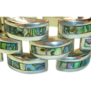 SALE Vintage Mexican Sterling Bracelet