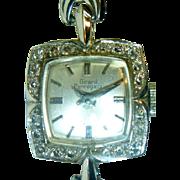 SALE PENDING Vintage Girard Perregaux 18K Gold and Diamond Lady's Watch