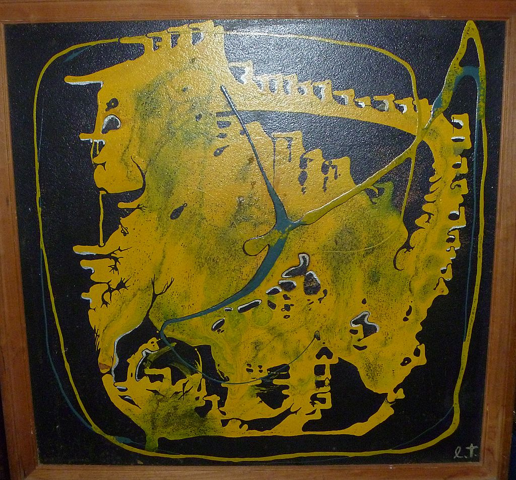 Ernest Trova Painting