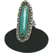 Native American Chrysocolla Ring
