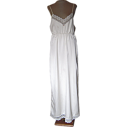 Vintage Yolande  Off-White Nightgown with Lace