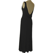 Andrea Polizzi for Rex Lester Long Black Dress