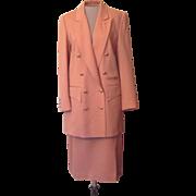 Vintage Louis Feraud Suit that is 20 % Cashmere