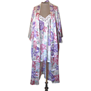 Vintage California Dynasty Nightgown and Robe