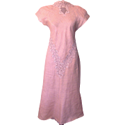 Vintage  Capriccio by Digna Dress with Lace