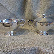 Sterling Silver Cream & Sugar Set by Sanborns