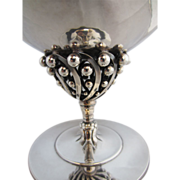 Georg Jensen Vintage Silver Bonbonniere #43