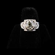 18k White Gold 1.19 ct Diamond Ring