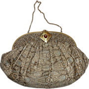 Ed B Robinson Shimmering Silk Brocade Evening Purse