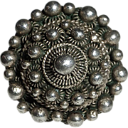 Ethnic Sterling Ornate Layered Ring