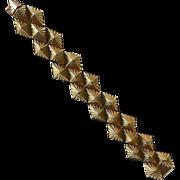 Kenneth J Lane Sculptural Pyramid Bracelet