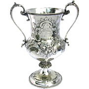 Antique Silver Cycling Trophy - North Road Cycling Club 1894