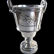 Antique Silver Trophy Ottawa Country Club Lawn Bowling c1910