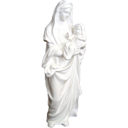 "Vintage ""Madonna and Child"" Figurine - ""The Life of Christ"" Sculpture Seri"