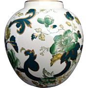 Vintage Vase - Mason's Ironstone China - Mandalay - Chartreuse