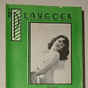"""1936 Playgoer Hollywood Playhouse for Burlesque """"Hollywood Goes Minsky"""""""