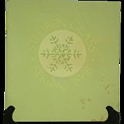 Steuben Glass Spring 1968 Catalog for Neiman Marcus