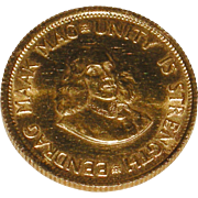 1980 South African Two Rand Gold Coin