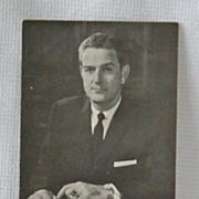 Autograph John Connally Texas Governor Secretary of Navy Wounded with Kennedy