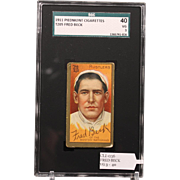 REDUCED T205 FRED BECK SGC grade 40 VG 3