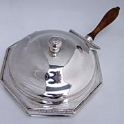 George III Sheffield Plate Toasted Cheese Dish 1790 - 1810