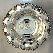 Sterling Silver Serving Bowl Towle 1910