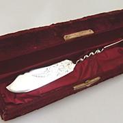 Twist Handle Master Butter Knife 1890