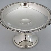 Prelude Compote Sterling Silver International 1940