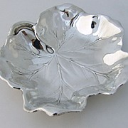 American Sterling Silver Leaf Bowl Reed & Barton 1942